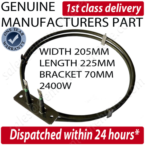 Genuine Electrolux Fan Oven Cooker Element Eob5630W Uk, Eob5630X Uk, Eob5665G Uk